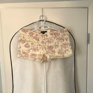 2 for $20🔥Forever 21 floral jean shorts